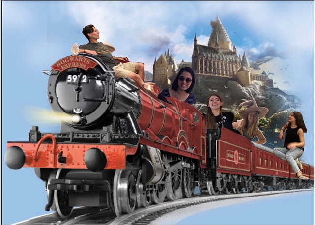 The ExCo Committee on the Hogwarts Express